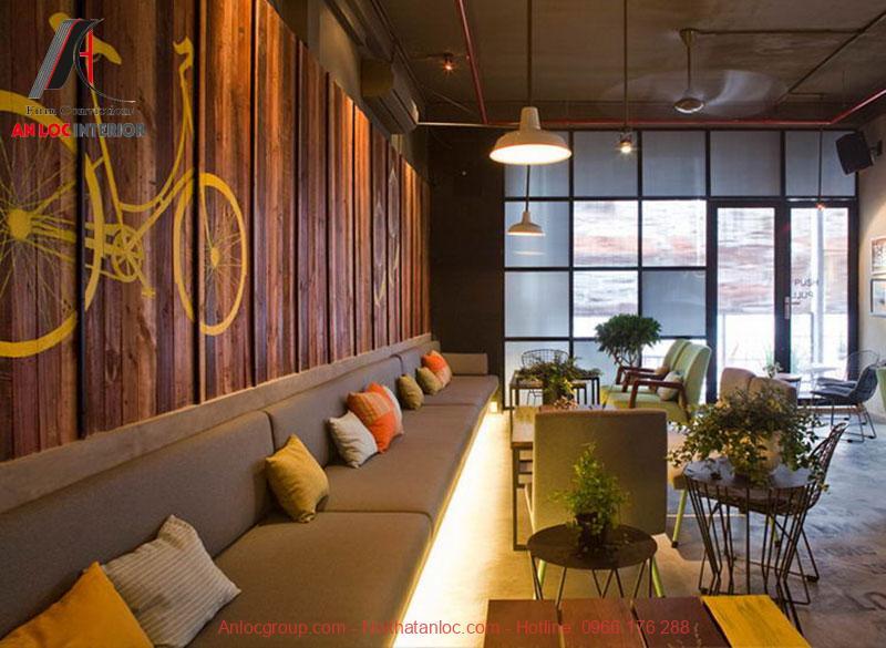 Mẫu thiết kế cafe phong cách Vintage 7