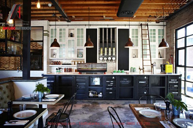 Mẫu thiết kế cafe phong cách Vintage 9