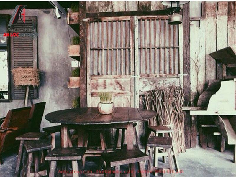 Mẫu thiết kế cafe phong cách Vintage 10
