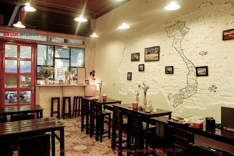 quán cafe phong cách Vintage Sài gòn
