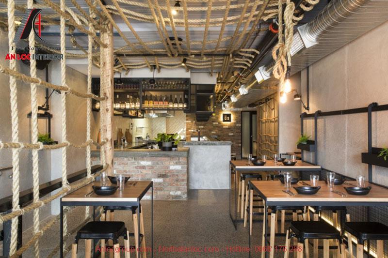 Mẫu thiết kế cafe phong cách Vintage 2