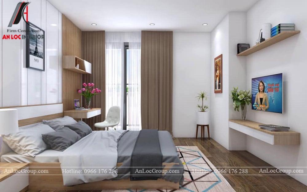 Thiết kế nội thất chung cư 70m2 tại Seasons Avenue - Ảnh 10