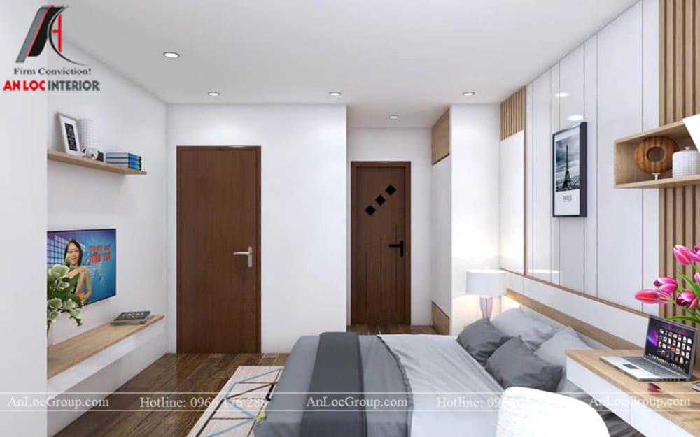 Thiết kế nội thất chung cư 70m2 tại Seasons Avenue - Ảnh 11