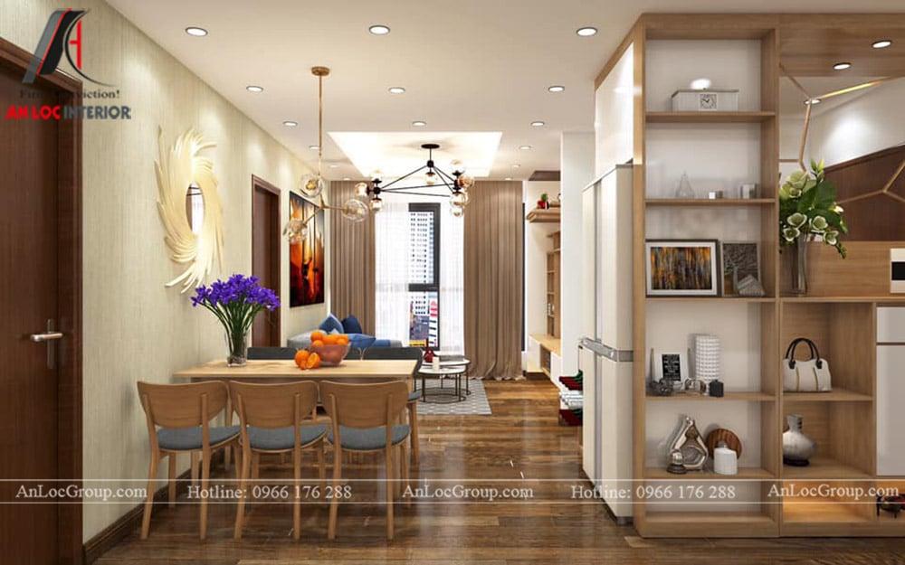Thiết kế nội thất chung cư 70m2 tại Seasons Avenue - Ảnh 4