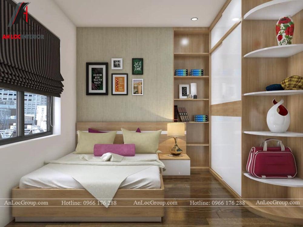 Thiết kế nội thất chung cư 70m2 tại Seasons Avenue - Ảnh 7