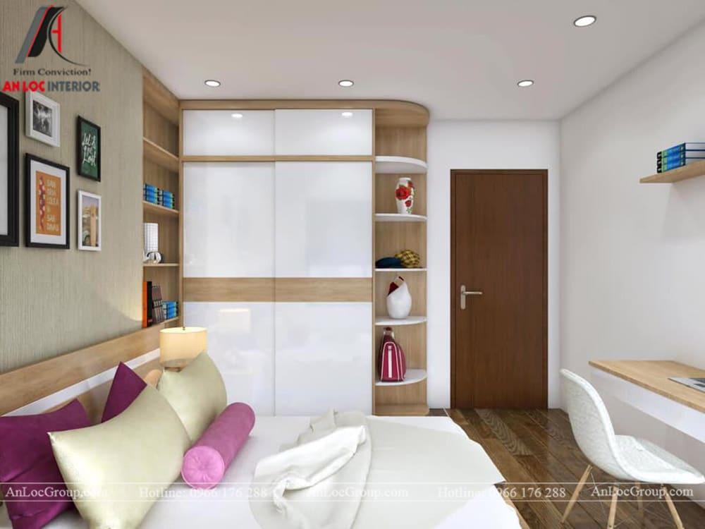 Thiết kế nội thất chung cư 70m2 tại Seasons Avenue - Ảnh 8