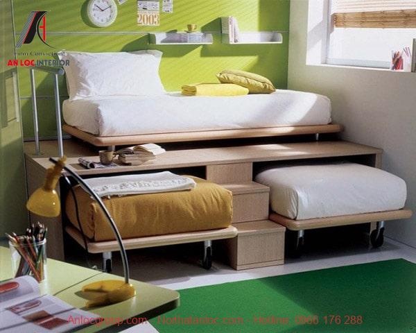 Trang trí phòng ngủ nhỏ tiết kiệm với đồ nội thất thông minh