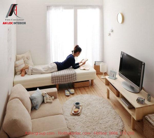 Trang trí phòng ngủ nhỏ đẹp, đơn giản, tiết kiệm