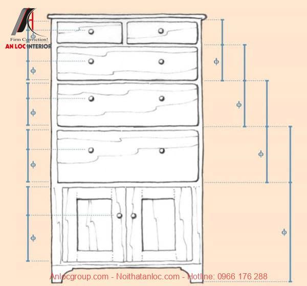 Tỷ lệ vàng trong thiết kế nội thất
