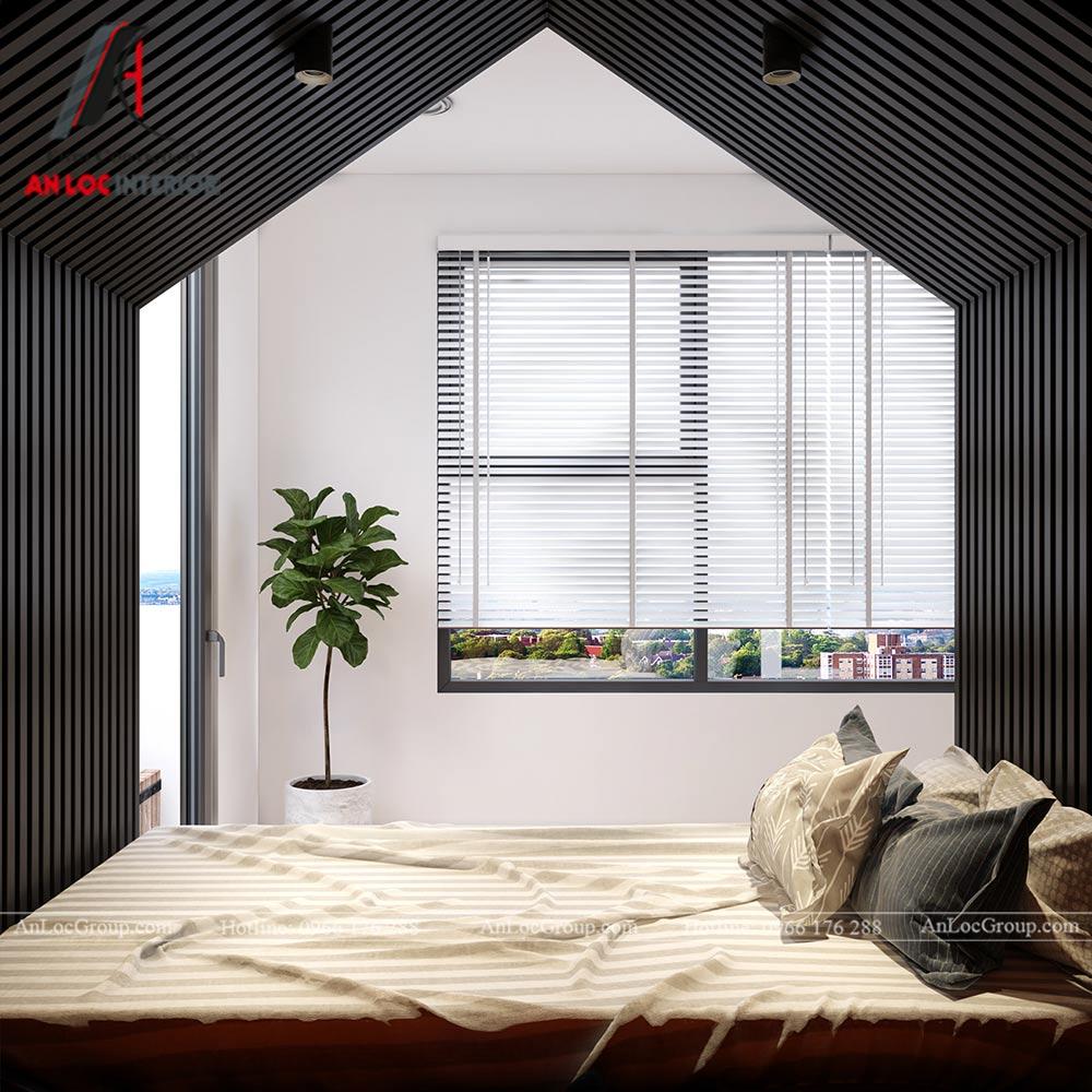 Mẫu thiết kế nội thất căn hộ 54m2 tại Flora Anh Đào - Ảnh 9