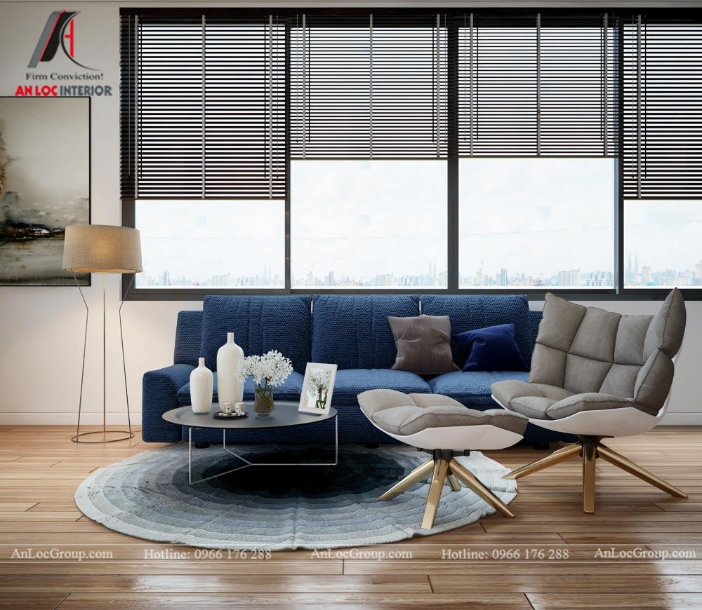 Mẫu thiết kế nội thất nhà phố đẹp tại Phú Thọ - Phòng làm việc