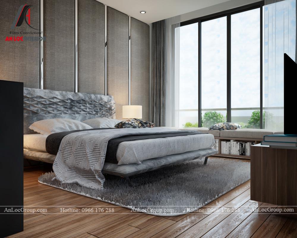 Mẫu thiết kế nội thất nhà phố đẹp tại Phú Thọ - Phòng ngủ