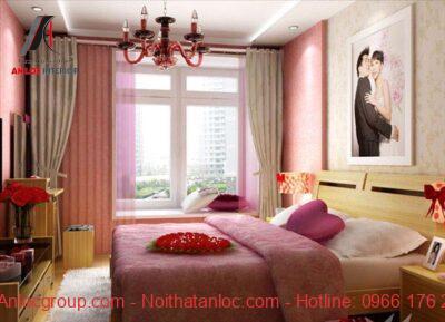 Phong thủy phòng ngủ vợ chồng, để ánh sáng tự nhiên chiếu vào giường ngủ