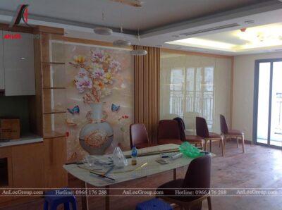 Thi công nội thất chung cư 81m2 tại Việt Đức Complex - Ảnh 10