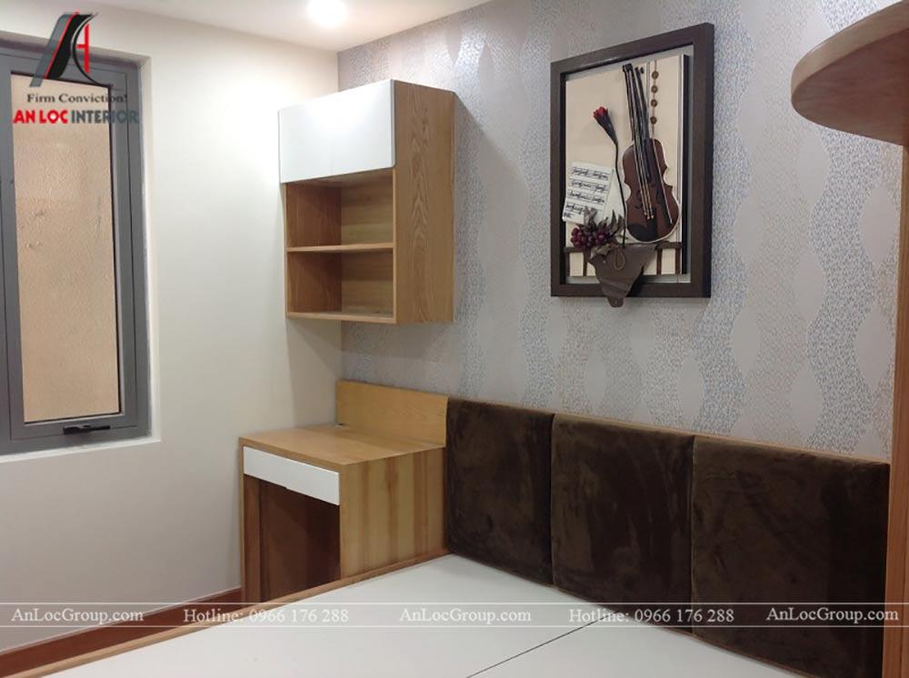 Thi công nội thất chung cư 81m2 tại Việt Đức Complex - Ảnh 17