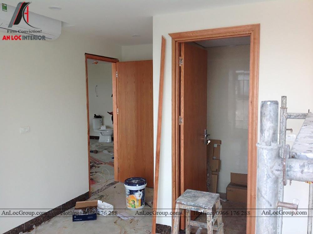 Thi công nội thất chung cư 81m2 tại Việt Đức Complex - Ảnh 2