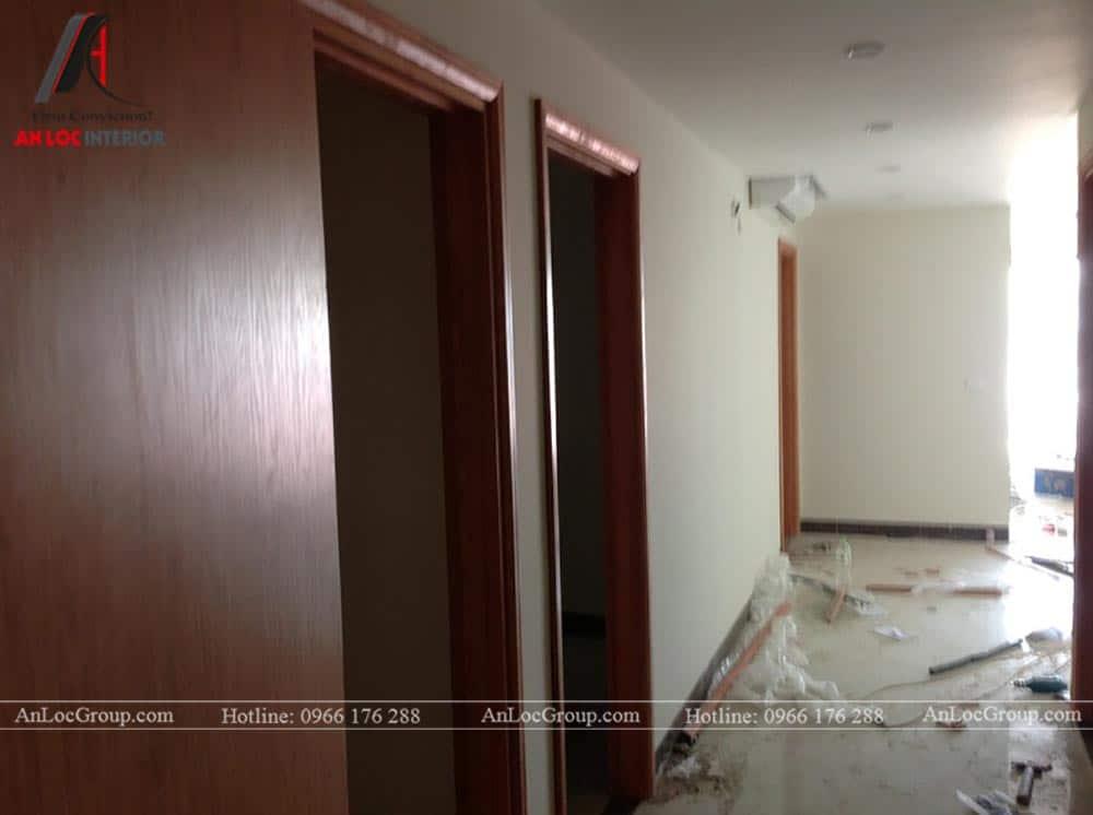 Thi công nội thất chung cư 81m2 tại Việt Đức Complex - Ảnh 3