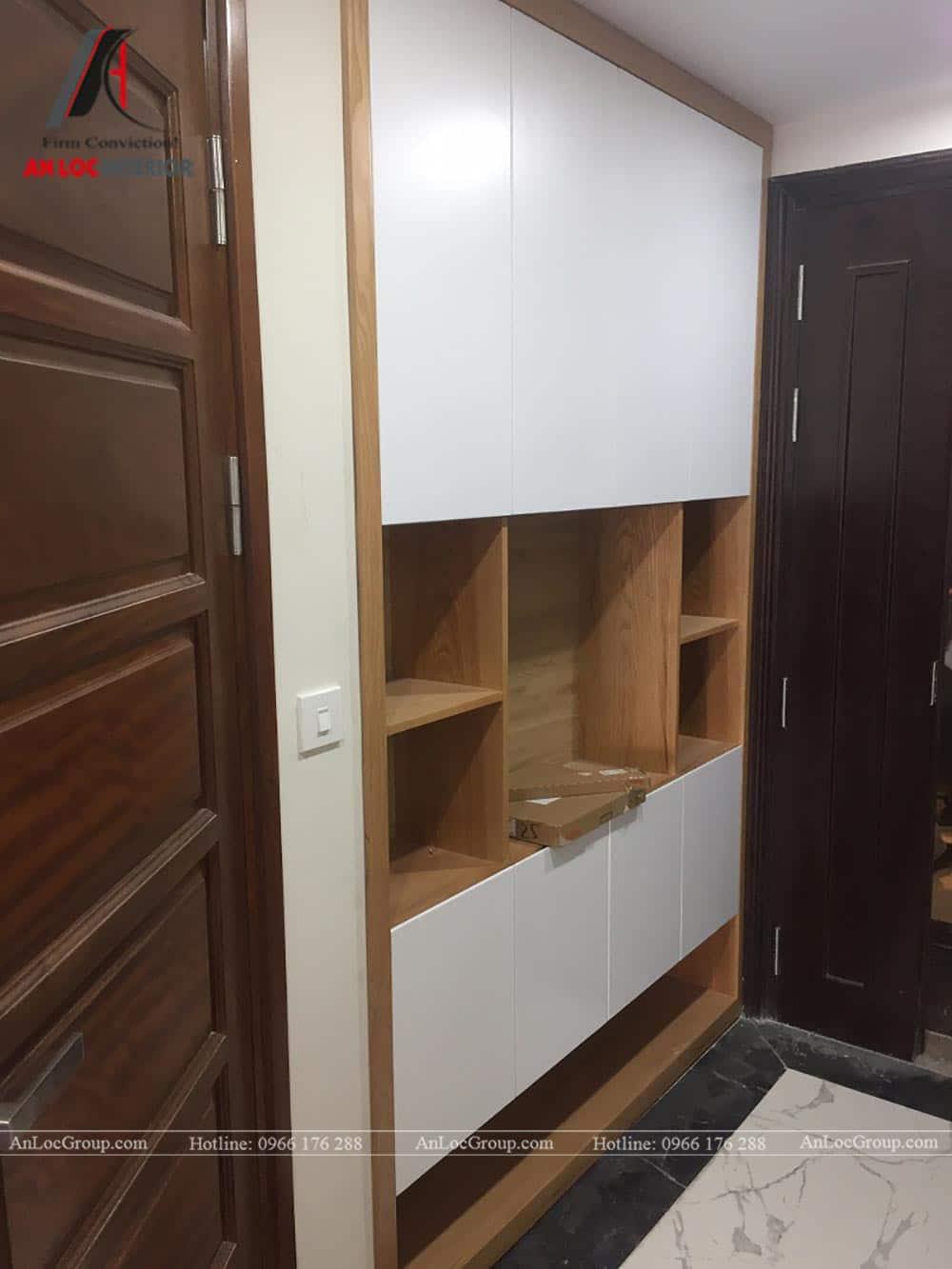 Thi công nội thất chung cư 81m2 tại Việt Đức Complex - Ảnh 7