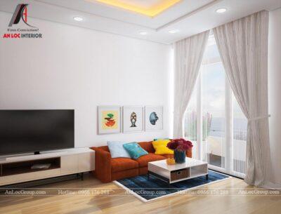 Mẫu thiết kế căn hộ mini 25m2 tại Vũ Tông Phan - Ảnh 1