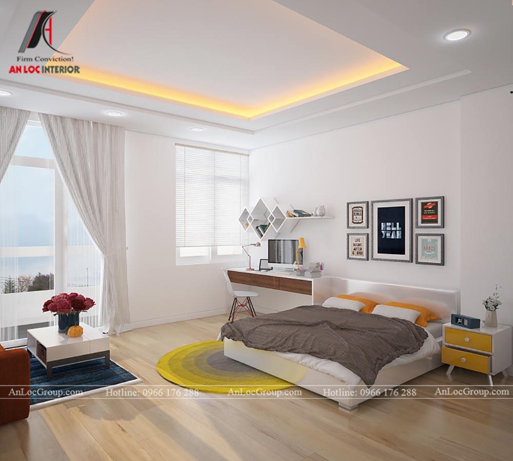 Mẫu thiết kế căn hộ mini 25m2 tại Vũ Tông Phan - Ảnh 5