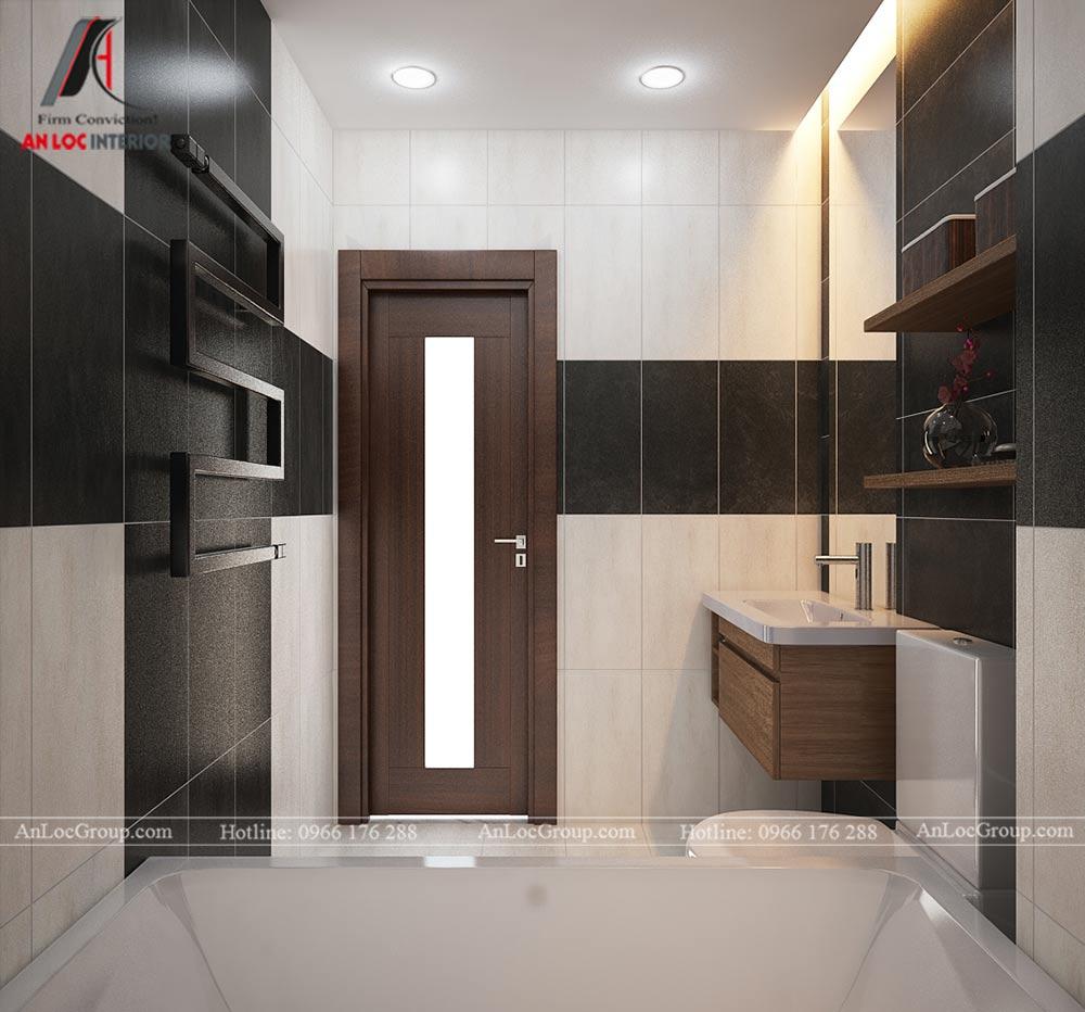 Mẫu thiết kế căn hộ mini 25m2 tại Vũ Tông Phan - Ảnh 8