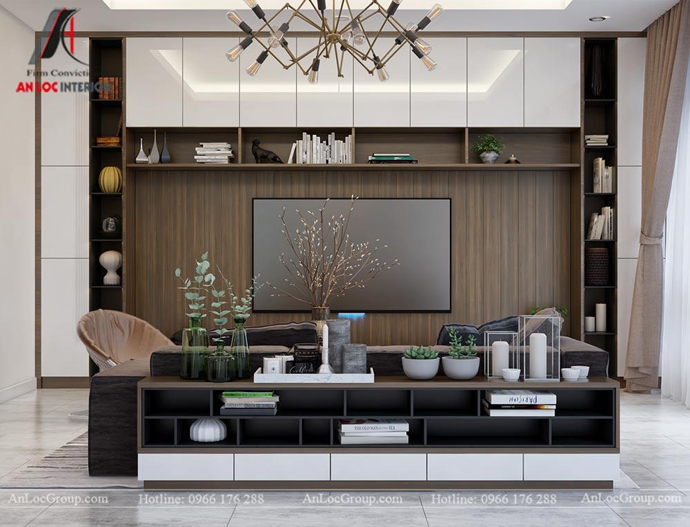 Thiết kế nội thất biệt thự đơn lập Athens 432m1 - Ảnh 2