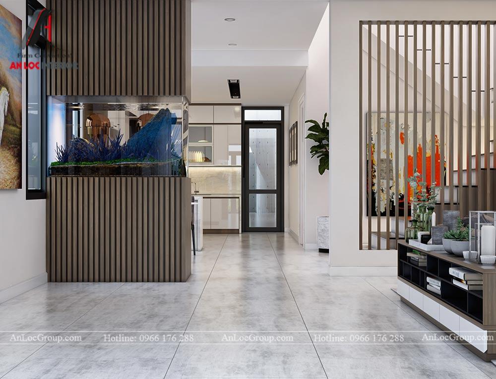 Thiết kế nội thất biệt thự đơn lập Athens 432m1 - Ảnh 3