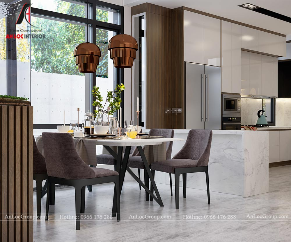 Thiết kế nội thất biệt thự đơn lập Athens 432m1 - Ảnh 4