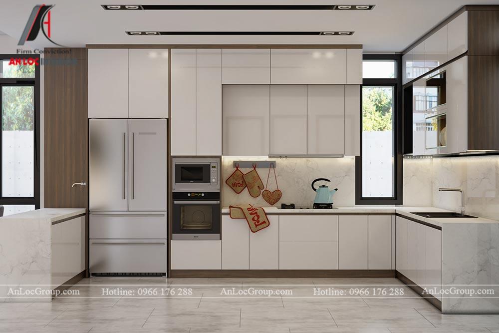 Thiết kế nội thất biệt thự đơn lập Athens 432m1 - Ảnh 5