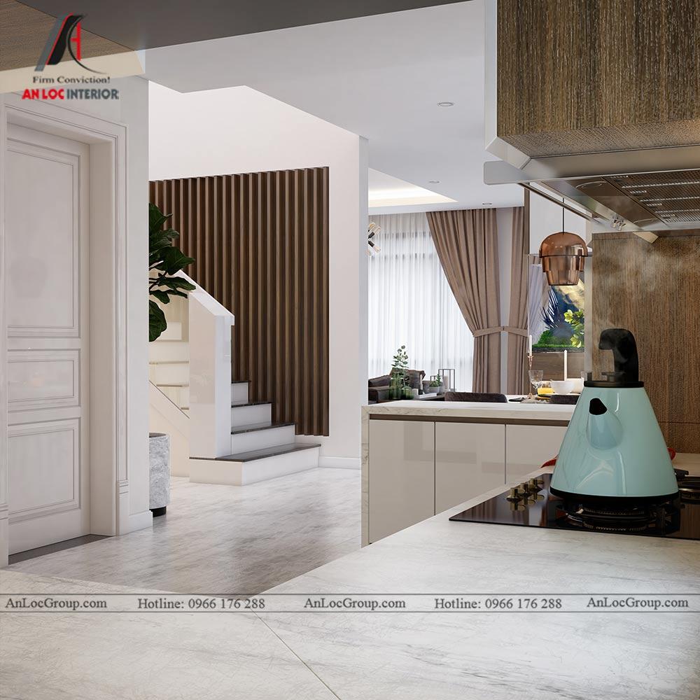 Thiết kế nội thất biệt thự đơn lập Athens 432m1 - Ảnh 6