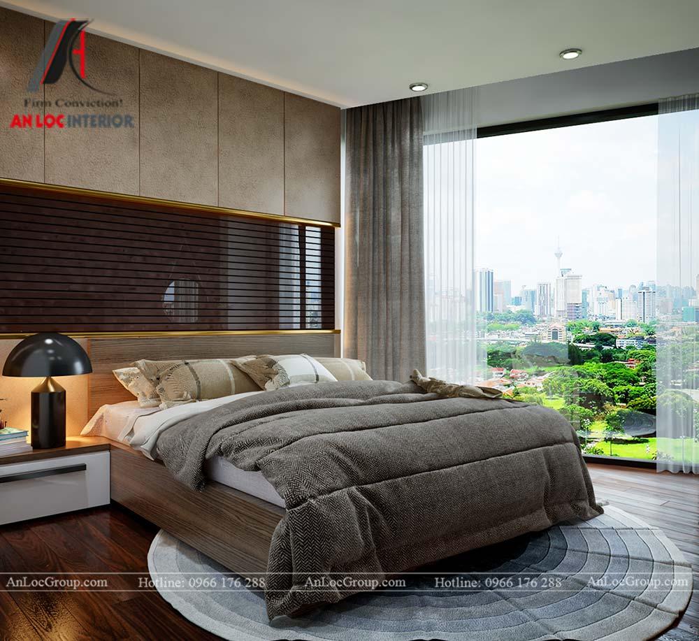 Thiết kế nội thất chung cư cao cấp Kosmo Tây Hồ 93m2 - Ảnh 11