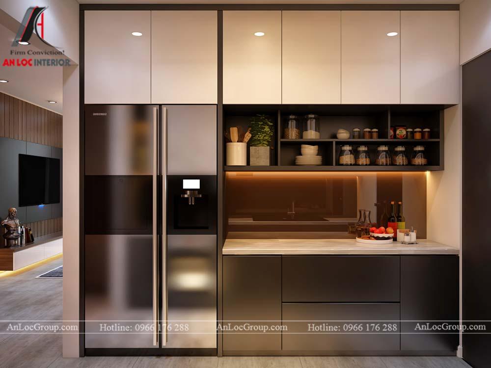 Thiết kế nội thất chung cư cao cấp Kosmo Tây Hồ 93m2 - Ảnh 5