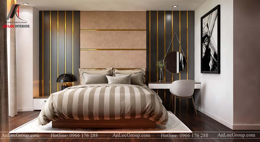 Thiết kế nội thất chung cư cao cấp Kosmo Tây Hồ 93m2 - Ảnh 8