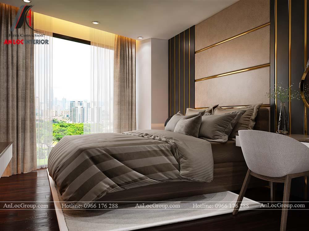 Thiết kế nội thất chung cư cao cấp Kosmo Tây Hồ 93m2 - Ảnh 9