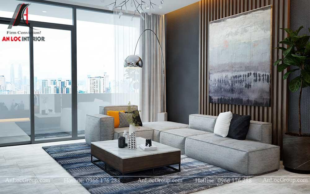 Thiết kế nội thất chung cư Việt Đức Complex 1