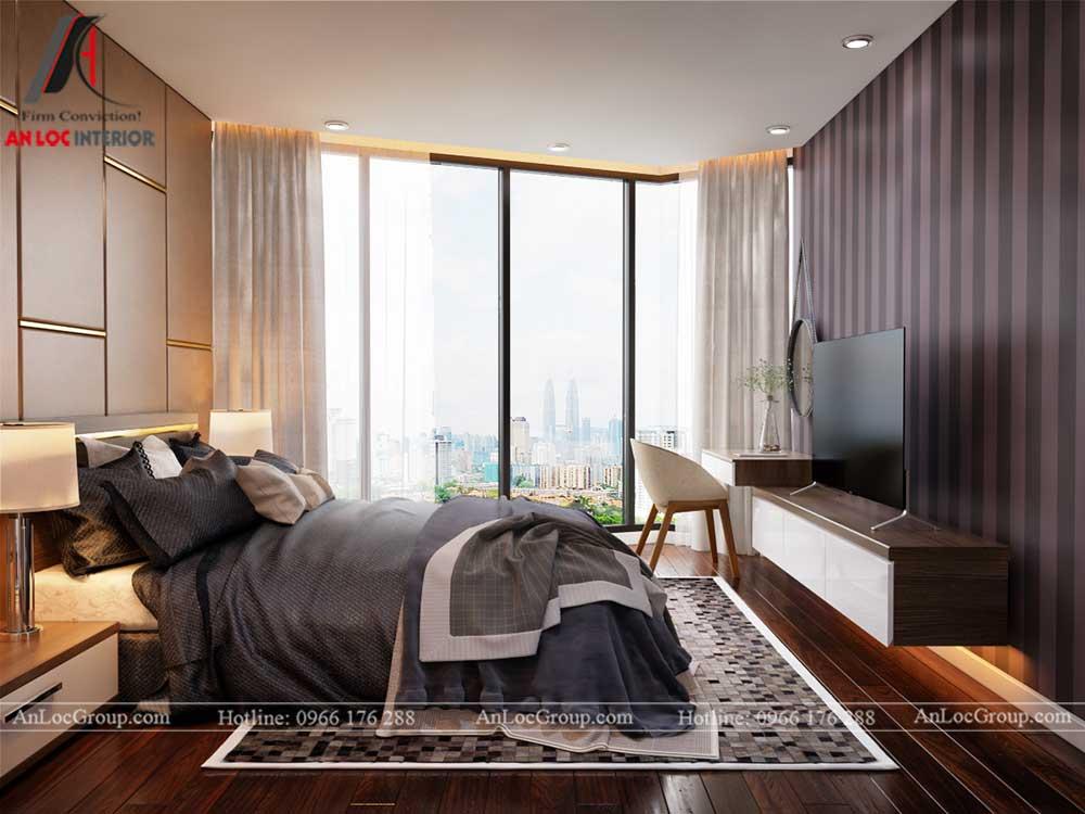 Thiết kế nội thất chung cư Việt Đức Complex 12