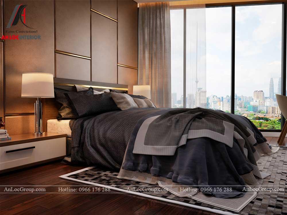 Thiết kế nội thất chung cư Việt Đức Complex 13