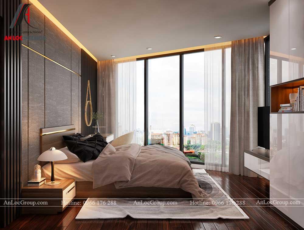 Thiết kế nội thất chung cư Việt Đức Complex 14