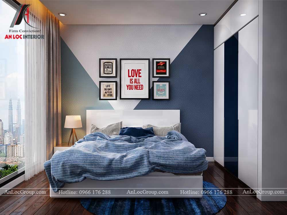 Thiết kế nội thất chung cư Việt Đức Complex 18