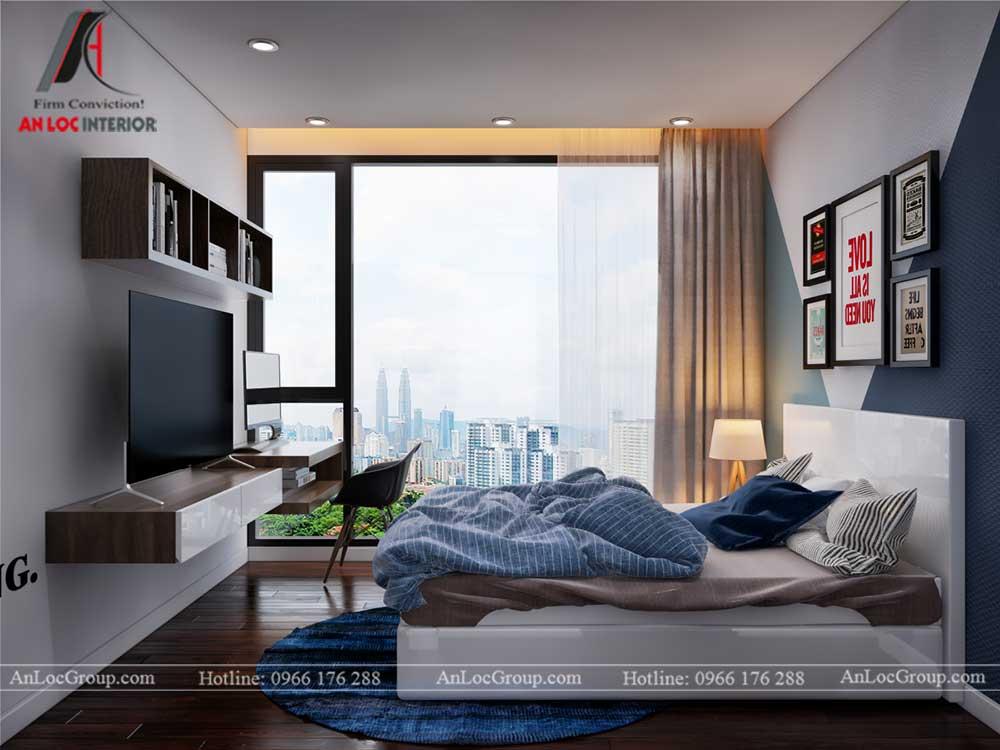 Thiết kế nội thất chung cư Việt Đức Complex 19