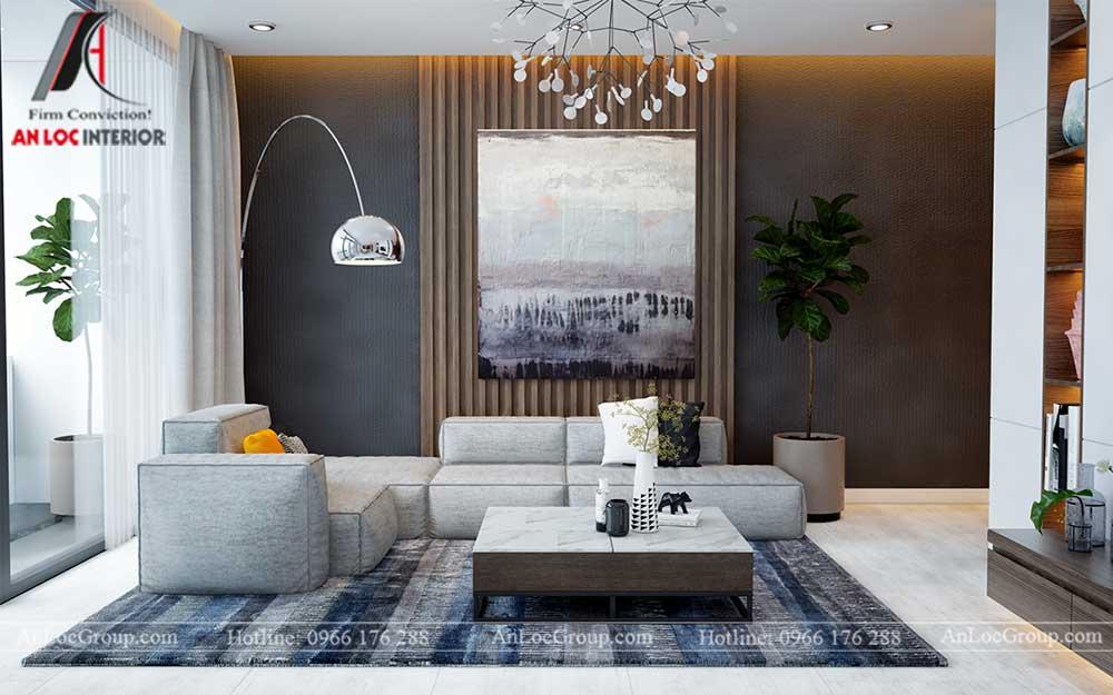 Thiết kế nội thất chung cư Việt Đức Complex 2
