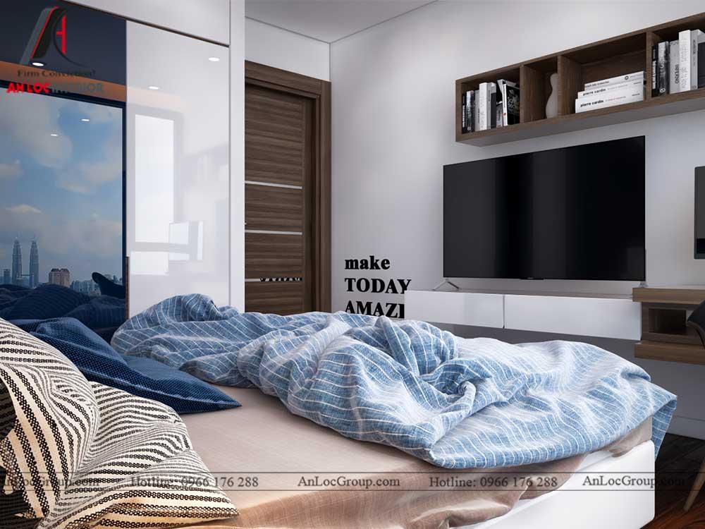Thiết kế nội thất chung cư Việt Đức Complex 20