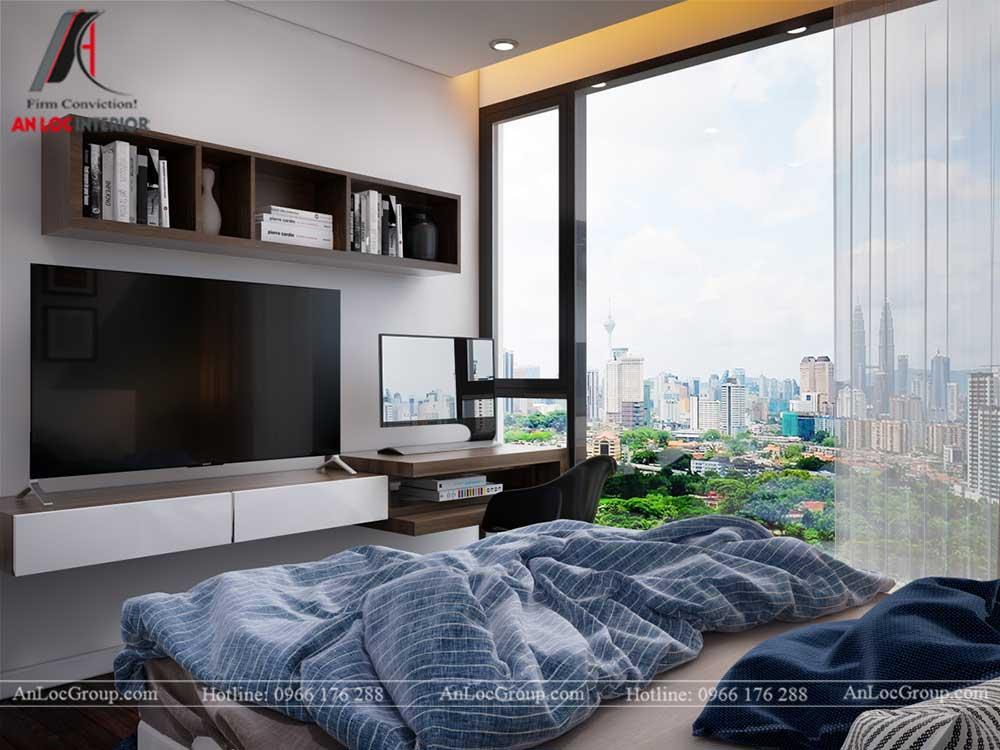 Thiết kế nội thất chung cư Việt Đức Complex 21