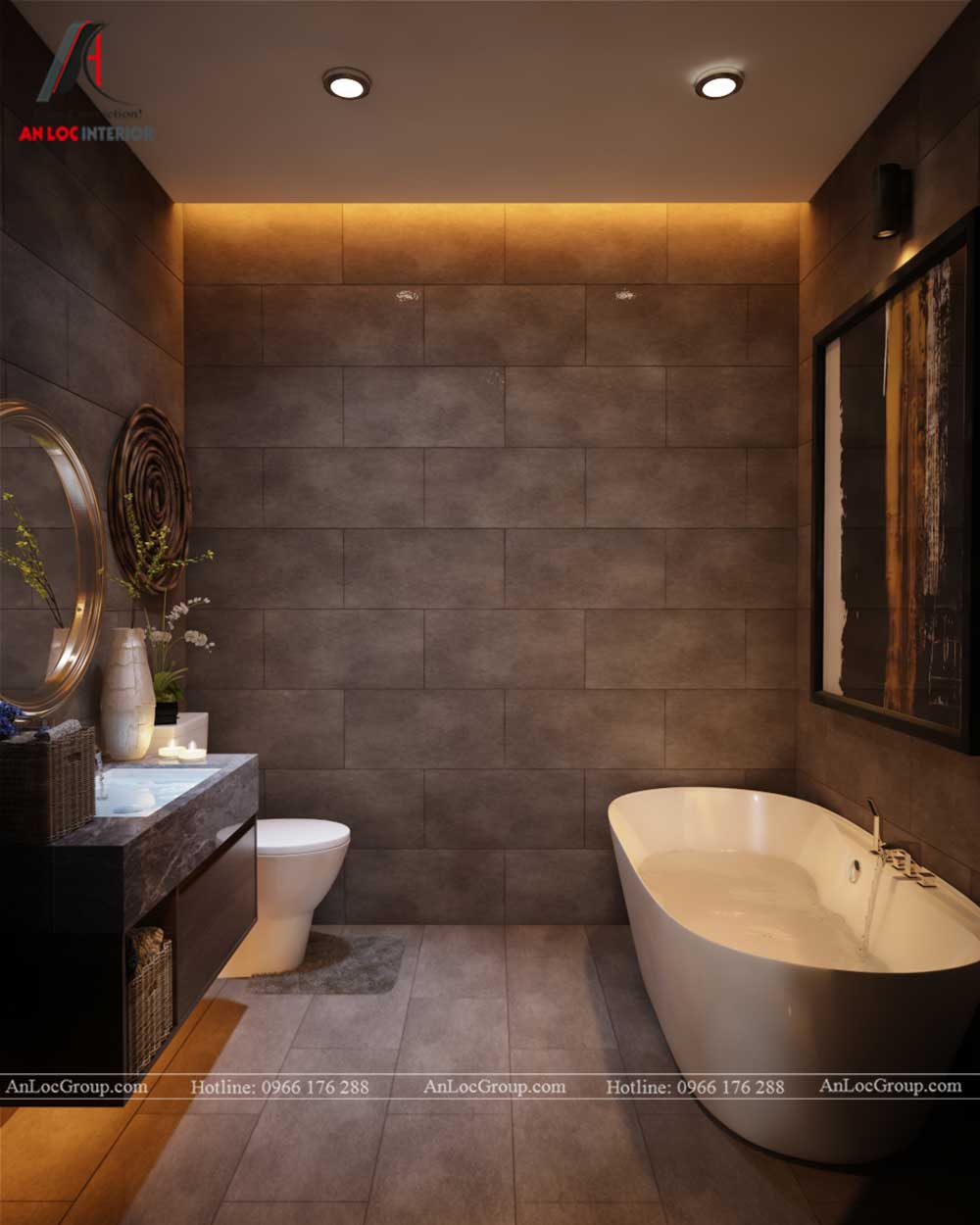 Thiết kế nội thất chung cư Việt Đức Complex 22