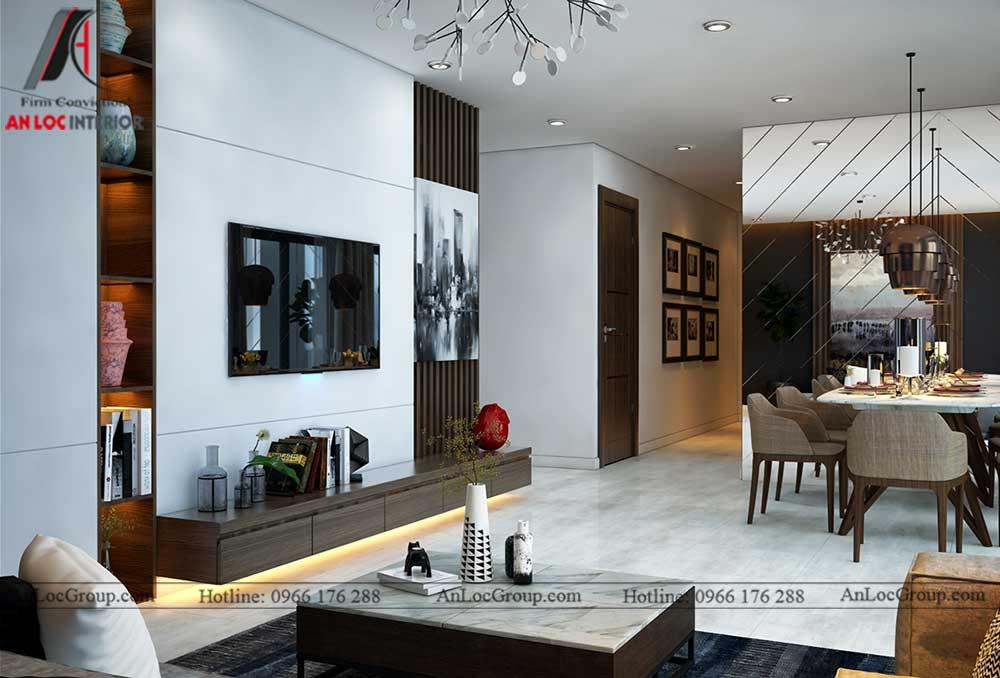 Thiết kế nội thất chung cư Việt Đức Complex 3