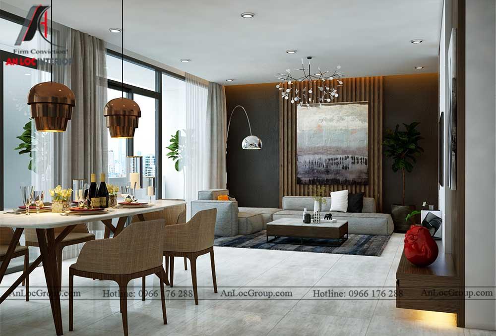 Thiết kế nội thất chung cư Việt Đức Complex 4