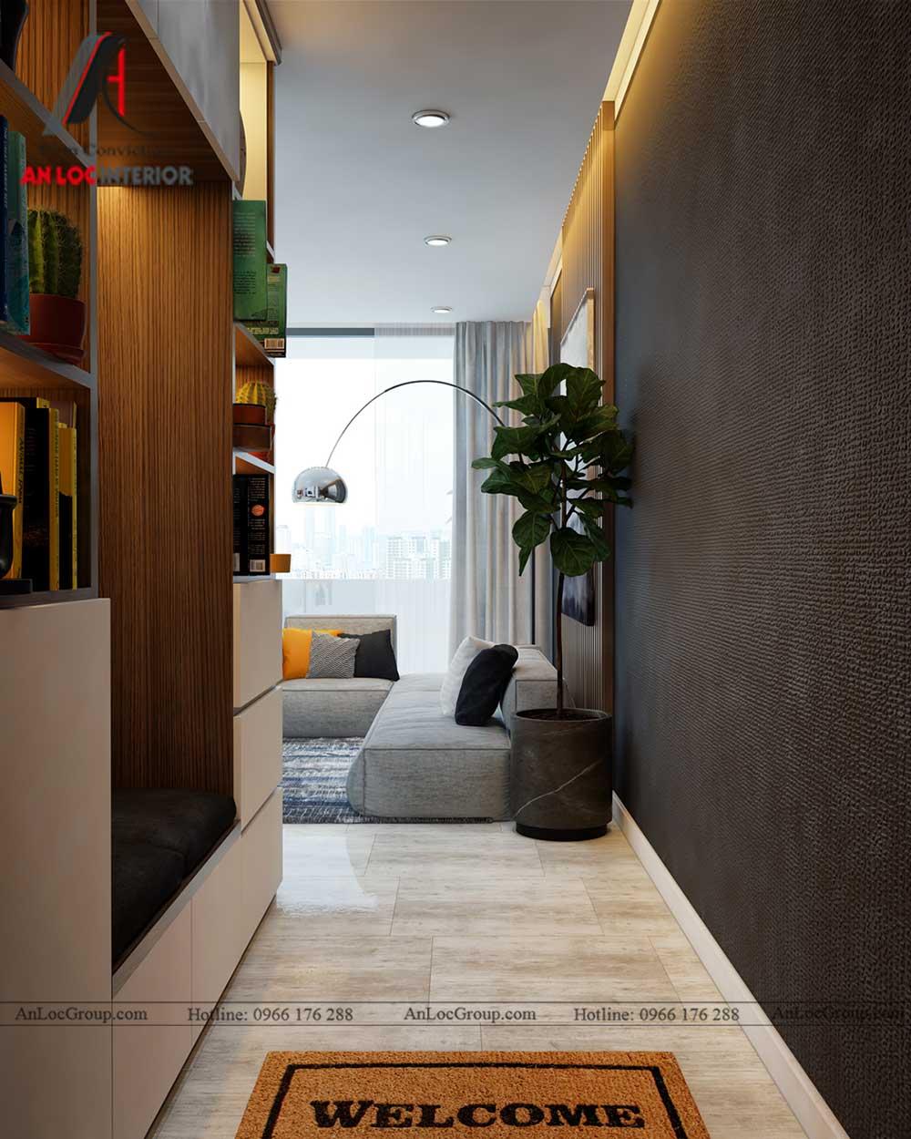 Thiết kế nội thất chung cư Việt Đức Complex 7