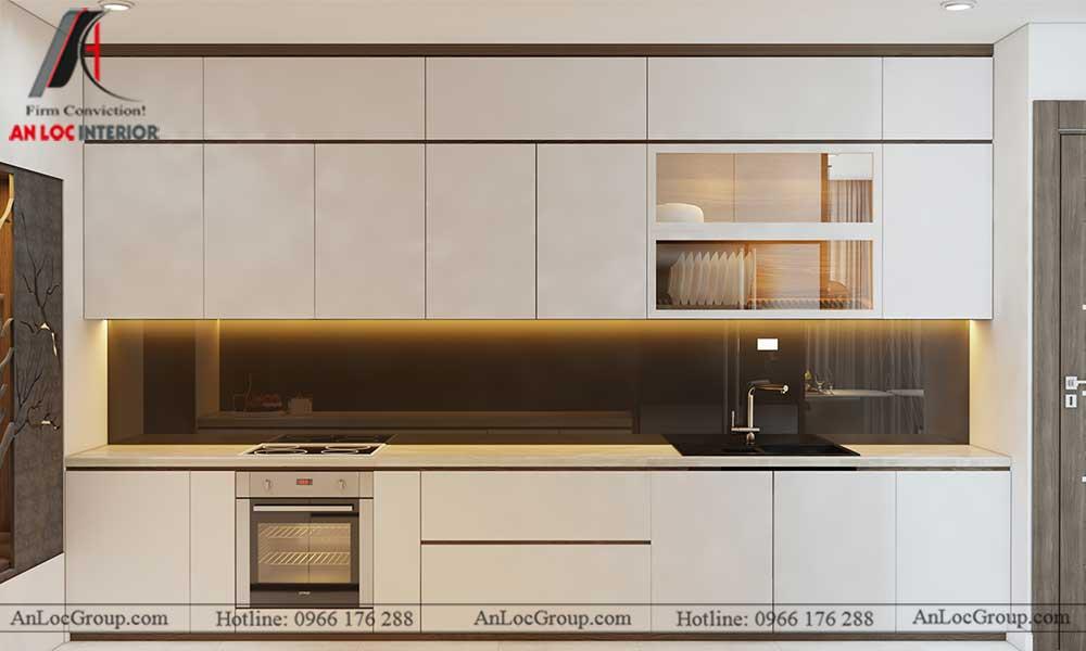 Thiết kế nội thất chung cư Việt Đức Complex 9