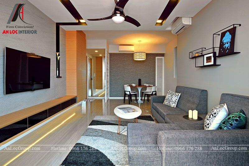 Hình ảnh thi công thực tế căn hộ 80m2 tại Sunshine Boulevard - Ảnh 5