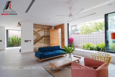 Mẫu nội thất biệt thự hiện đại tại Thảo Điền Village - Ảnh 4